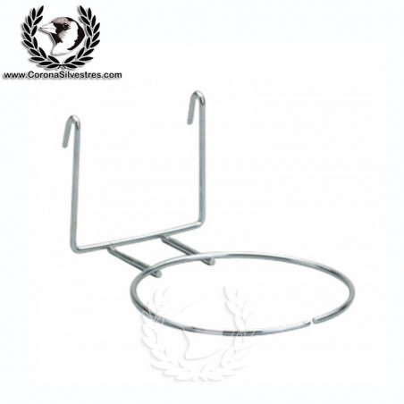 Portanido de hierro 1 aro para cardenalito / Jilguero