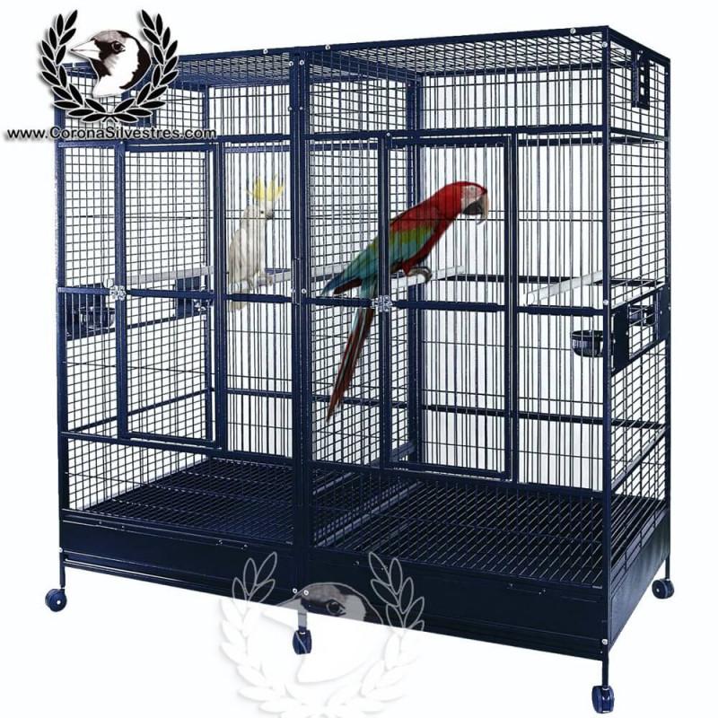 Jaula Mod. Twin Large Parrot