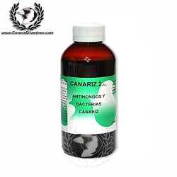 Antihongos y Bacterias 250 ml. CANARIZ