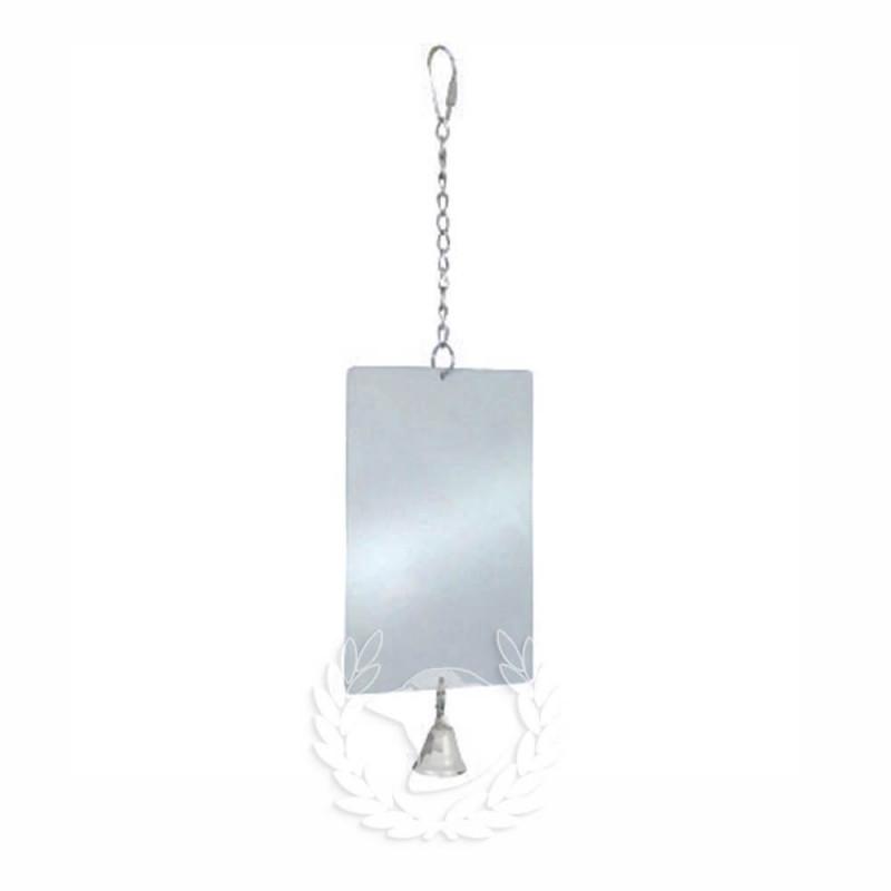 Espejo metálico con campana