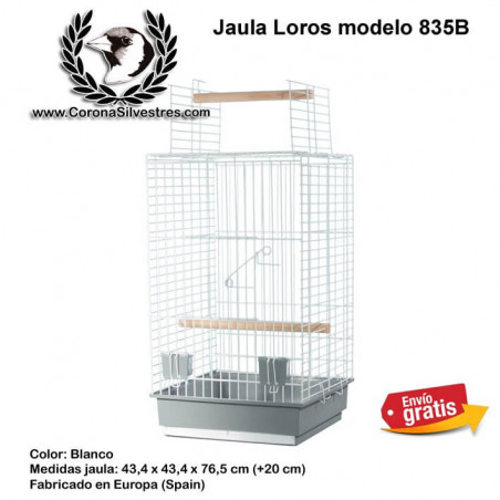 Jaula para Loros modelo 835B