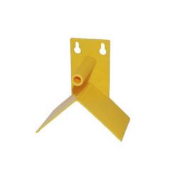 Posador con triangulo de protección