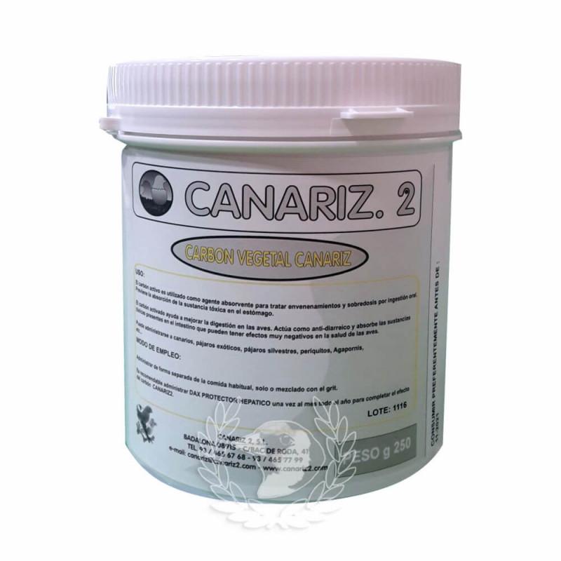 Carbón Vegetal Canariz 250g