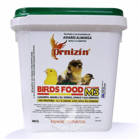Ornizin M3 Evolution Birds Food