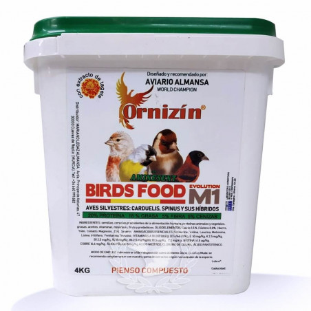 Ornizin M1 Evolution Birds Food