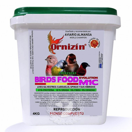 Ornizin M1C Evolution Birds Food