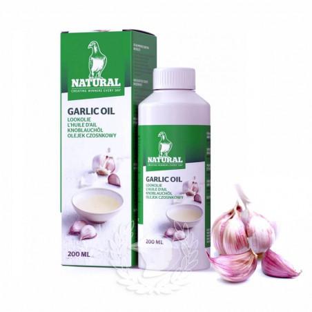 Aceite de Ajo para pájaros y palomas Natural Granen