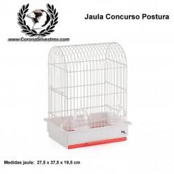 Jaula Postura para canarios modelo 1090