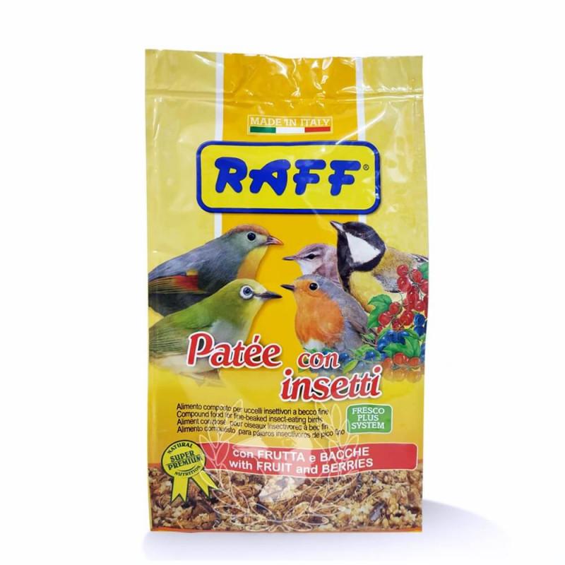 Raff Patee con Insectos 400g