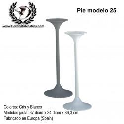 Pie modelo 25