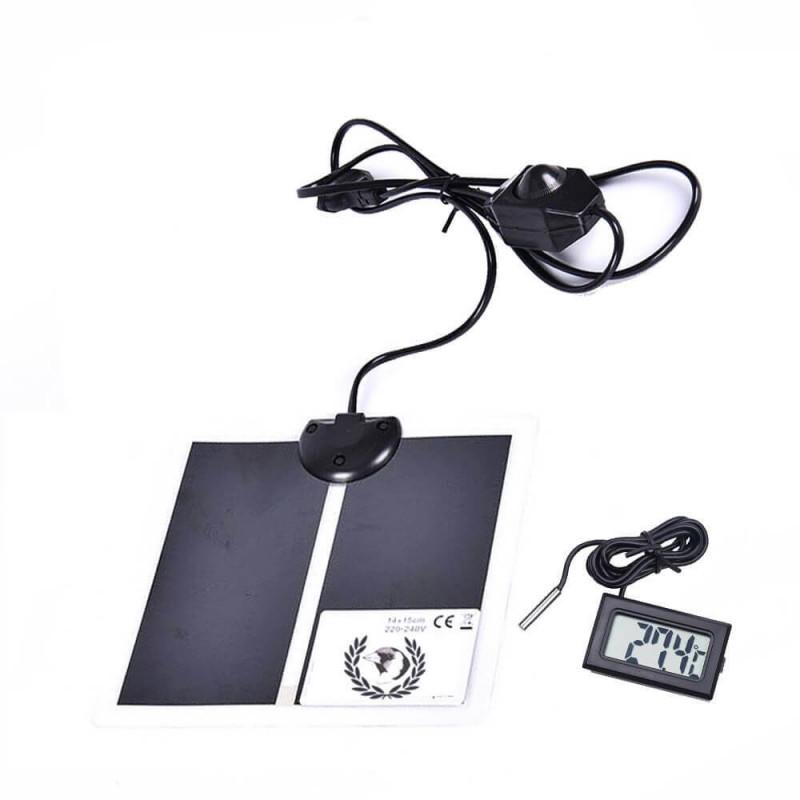 Manta Térmica 14W con Regulador + Termómetro digital