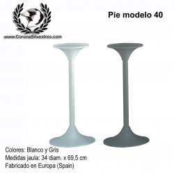 Pie modelo 40