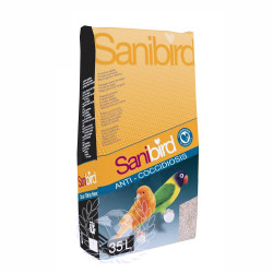 SaniBird Arena para Fondo de Jaulas 35 L. (Anti-Coccidiosis)