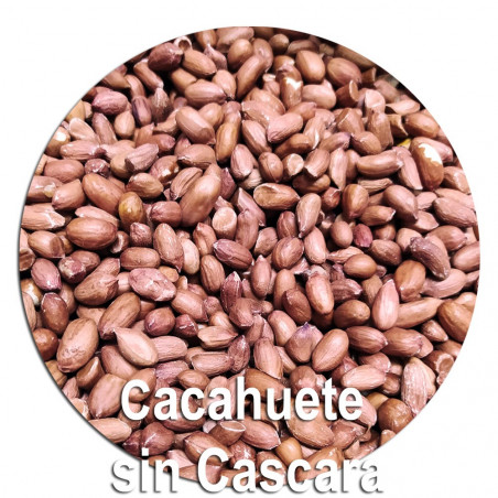 Cacahuete natural sin cascara
