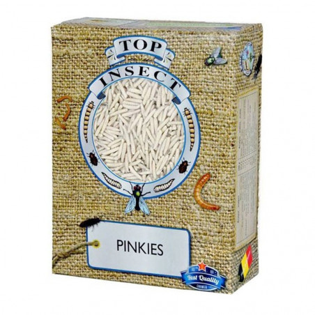 Gusanos Pinkies congelados