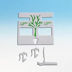 SOPORTE KM para accesorios y hueso de Jibia MoldesAve