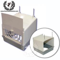Caja portanido exterior de plástico