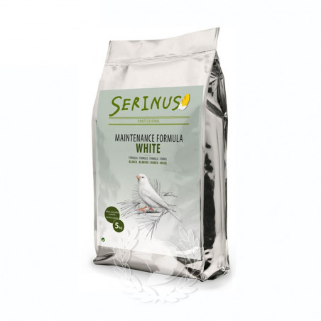 Serinus Canarios Formula Blanca Mantenimiento 5 kg