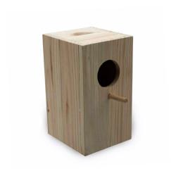 Nido de madera para agapornis Vertical