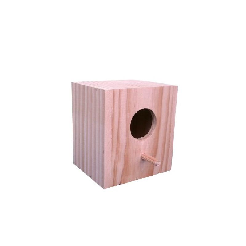 Nido para exóticos de madera