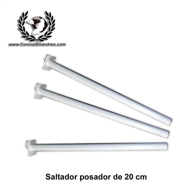 Saltador Posador de 20 cm para jaula