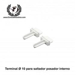 Terminal para saltador en forma de T de 10 mm