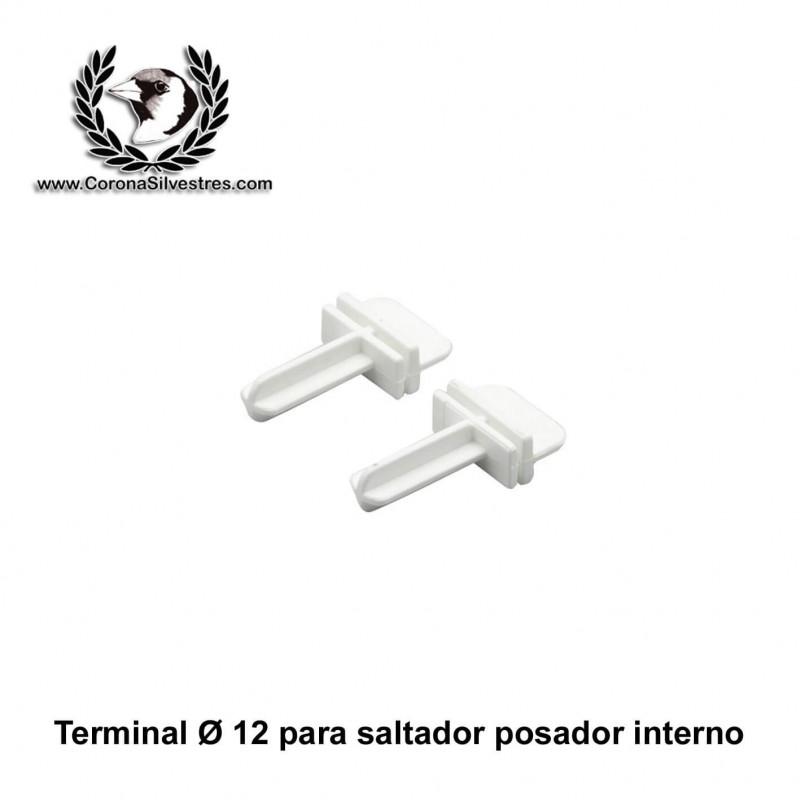 Terminal para saltador en forma de T de 12 mm