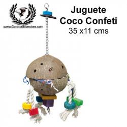 Juguete Coco Confeti 35 x 11 cm