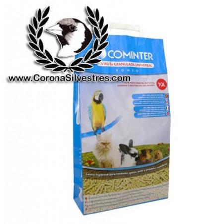 Viruta Granulada Cominter 5,5 kg.