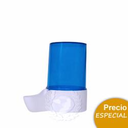 Bebedero Grande Azul 200 ml