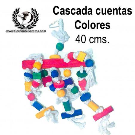 Juguete Cascada con cuentas de colores 40 cm