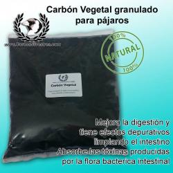 Carbón Vegetal Granulado 125g.