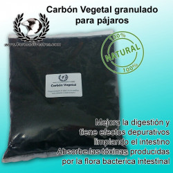 Carbón Vegetal Granulado