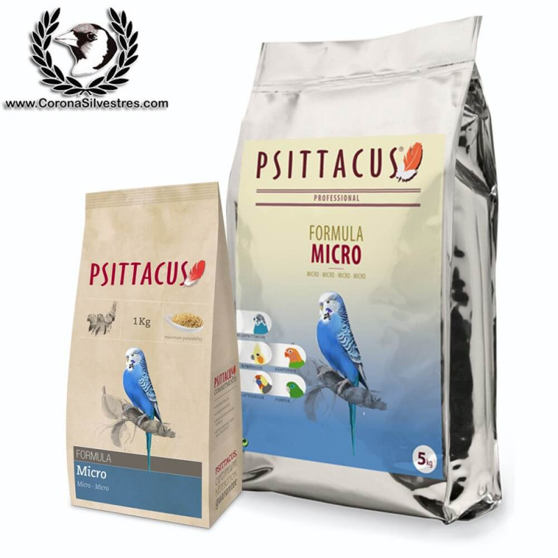Pienso Micro PSTTACUS 1 kg
