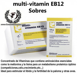 Chevita multivitamin EB12 Sobres