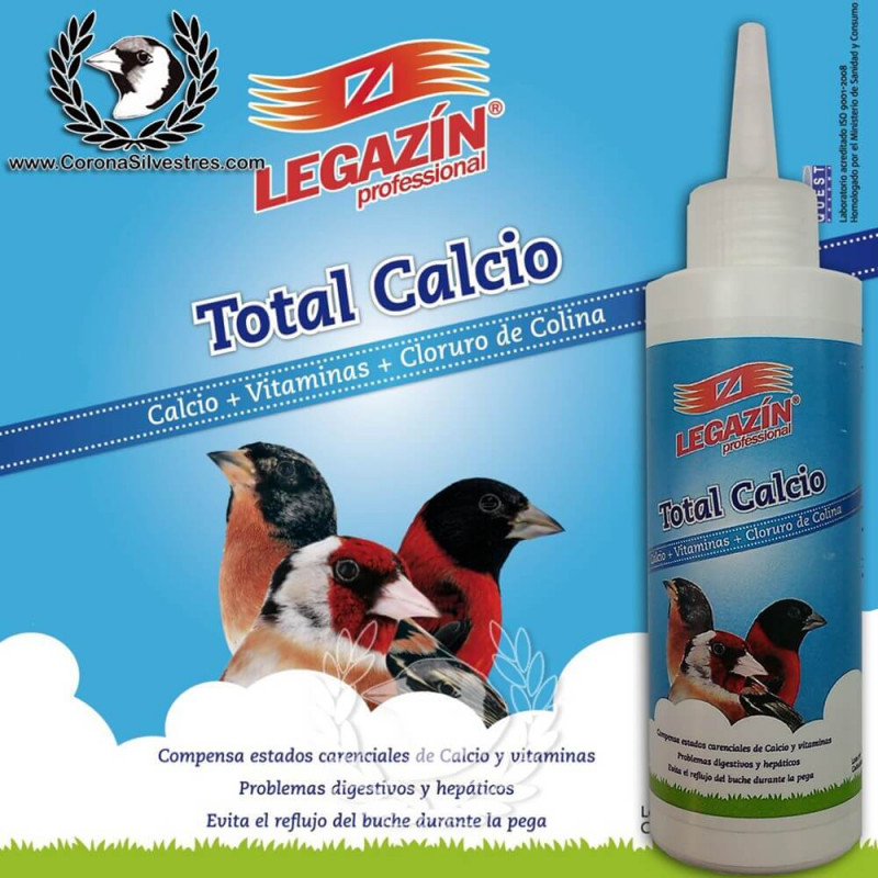 Total Calcio 160 ml Legazin
