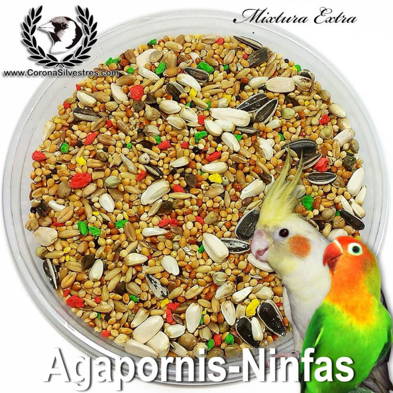 Mixtura Extra Plus para Ninfas y Agapornis