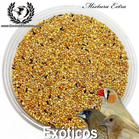 Mixtura Extra para Pájaros Exóticos