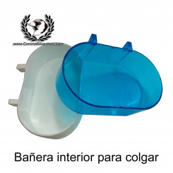 Bañera interior para colgar