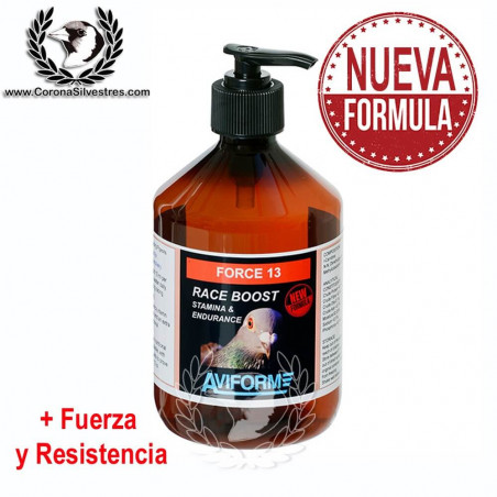 Aviform Force 13 -500ml- Incrementa la fuerza y resistencia en vuelo de manera espectacular