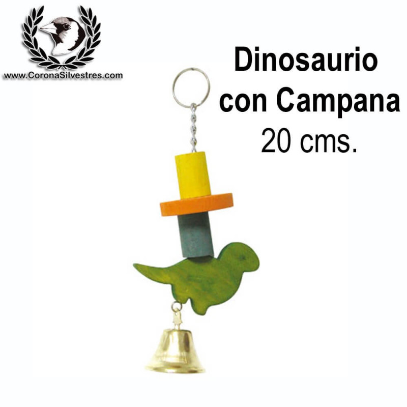 Juguete Dinosaurio con Campana 20 cms