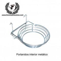 Portanidos interior metálico