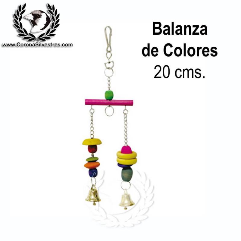 Juguete Balanza de Colores 20 cm