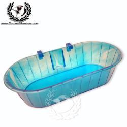 Bañera rígida oval grande