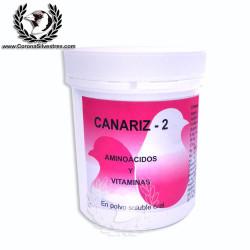 Aminoácidos y Vitaminas en polvo Soluble 100g Canariz