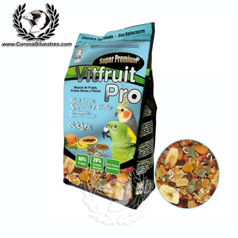 VitFruit Pro Alimento para Loros y Cotorras 800g