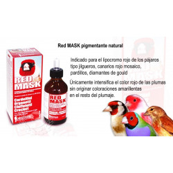 Red MASK pigmentante natural 100ml