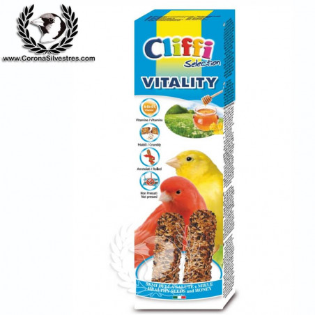 Barritas Vitality para Canarios