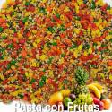 Pasta de Cría con frutas