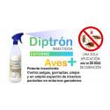 Diptrón Insecticida Aves+Plus 1L.